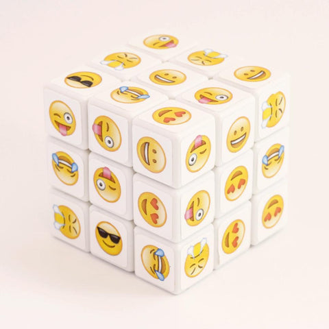 EMOJI 3x3x3 Novelty Picture Cube