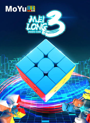 MoFang JiaoShi Meilong 3x3x3 Speed Cube