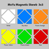 Sticker Set MoYu Magnetic Skewb