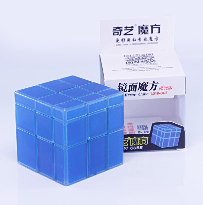 qiyi glow in the dark mirror block packaging
