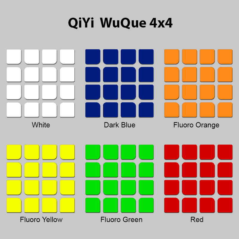 Sticker Set QiYi WuQue 4x4
