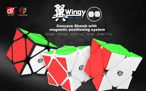 QiYi X-Man Design Wingy Skewb