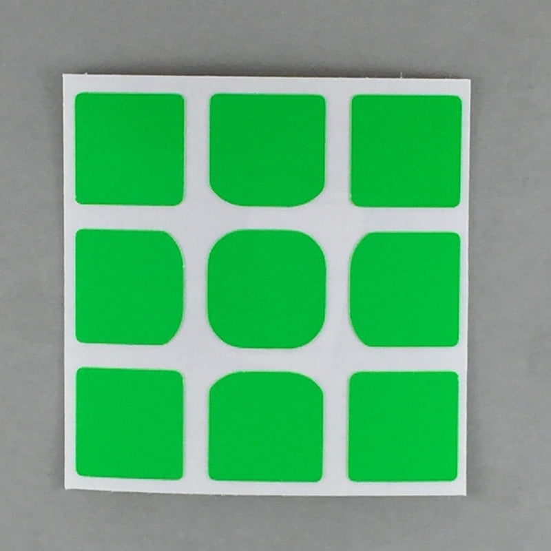 AusCubeSticker Sticker Sheet: 3x3 Florian-Square