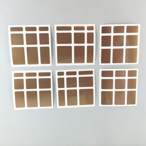 Sticker Set 3x3 Mirror Block