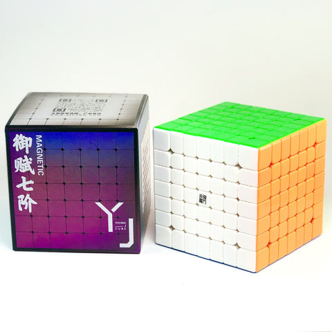 YJ YuFu V2 M 7x7x7 Magnetic Speed Cube