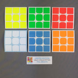 Sticker Set VALK3 3x3x3 FULL FITTED