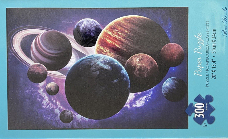 "Bei Bi La 300 Piece Jigsaw Puzzle ""Planets in Space"""