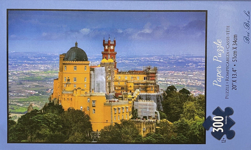 "Bei Bi La 300 Piece Jigsaw Puzzle ""Florence Dome Building on the hill"""