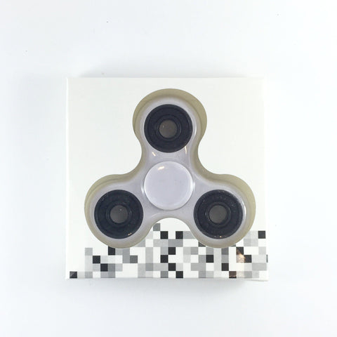 Fidget Tri Hand Spinner with 2m30s max spin/slew time