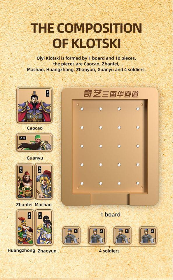 QiYi Three Kingdoms Klotski puzzle
