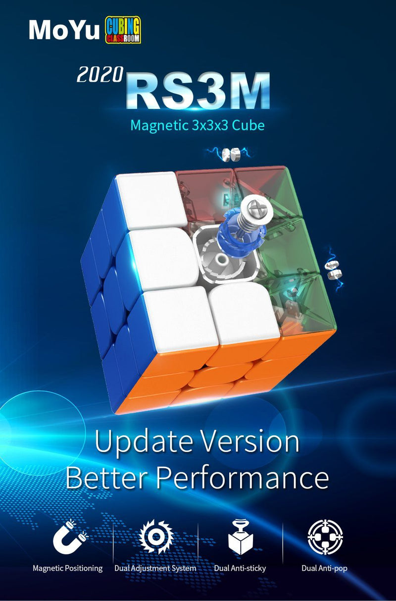 MoYu RS3M 2020 3x3x3 Magnetic Speedcube
