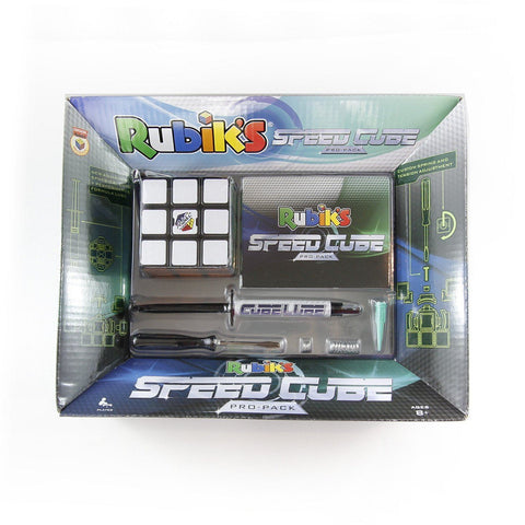 Rubik's Speedcube Pro Pack 3x3x3 BLACK TILED SPEED CUBE