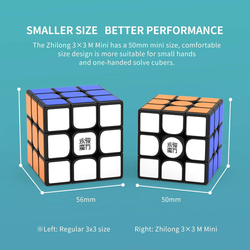 YJ Mini Magnetic 3x3 Speed Cube