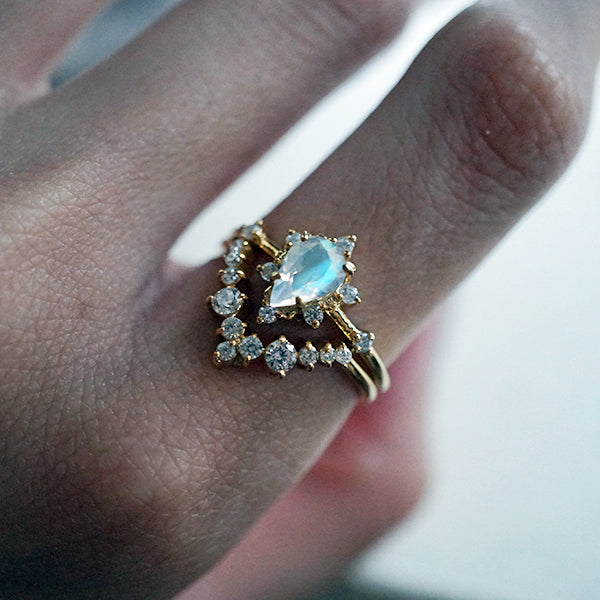 tippy taste jewelry aquamarine crush ring