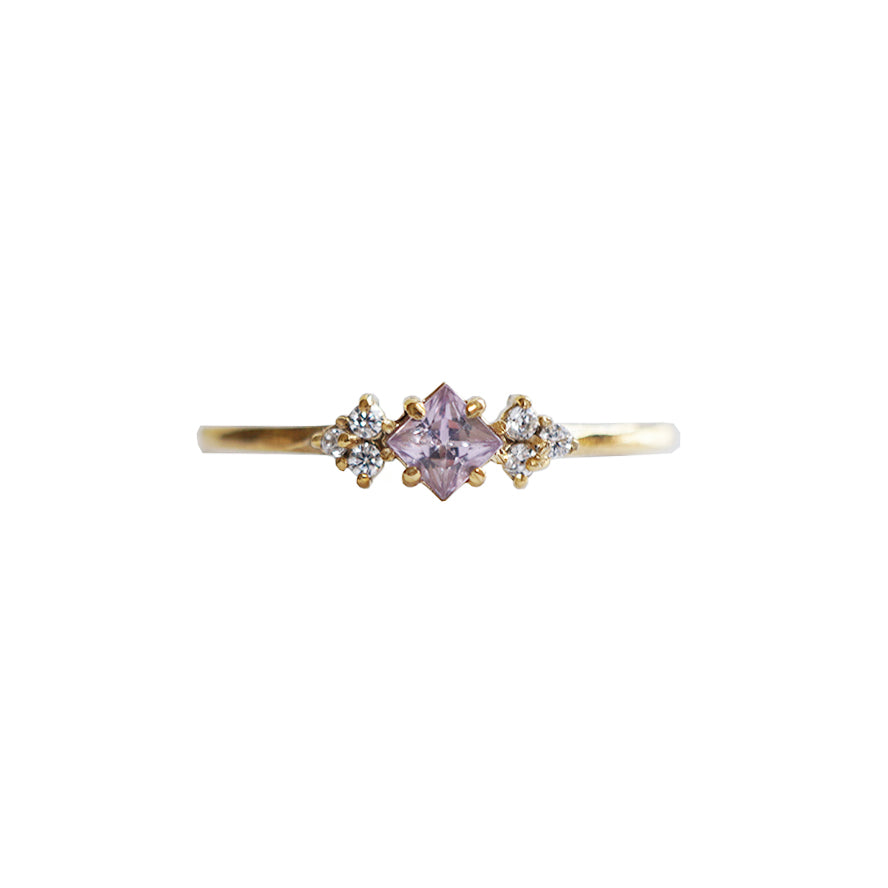Pink Sapphire Blush Ring - Tippy Taste Jewelry
