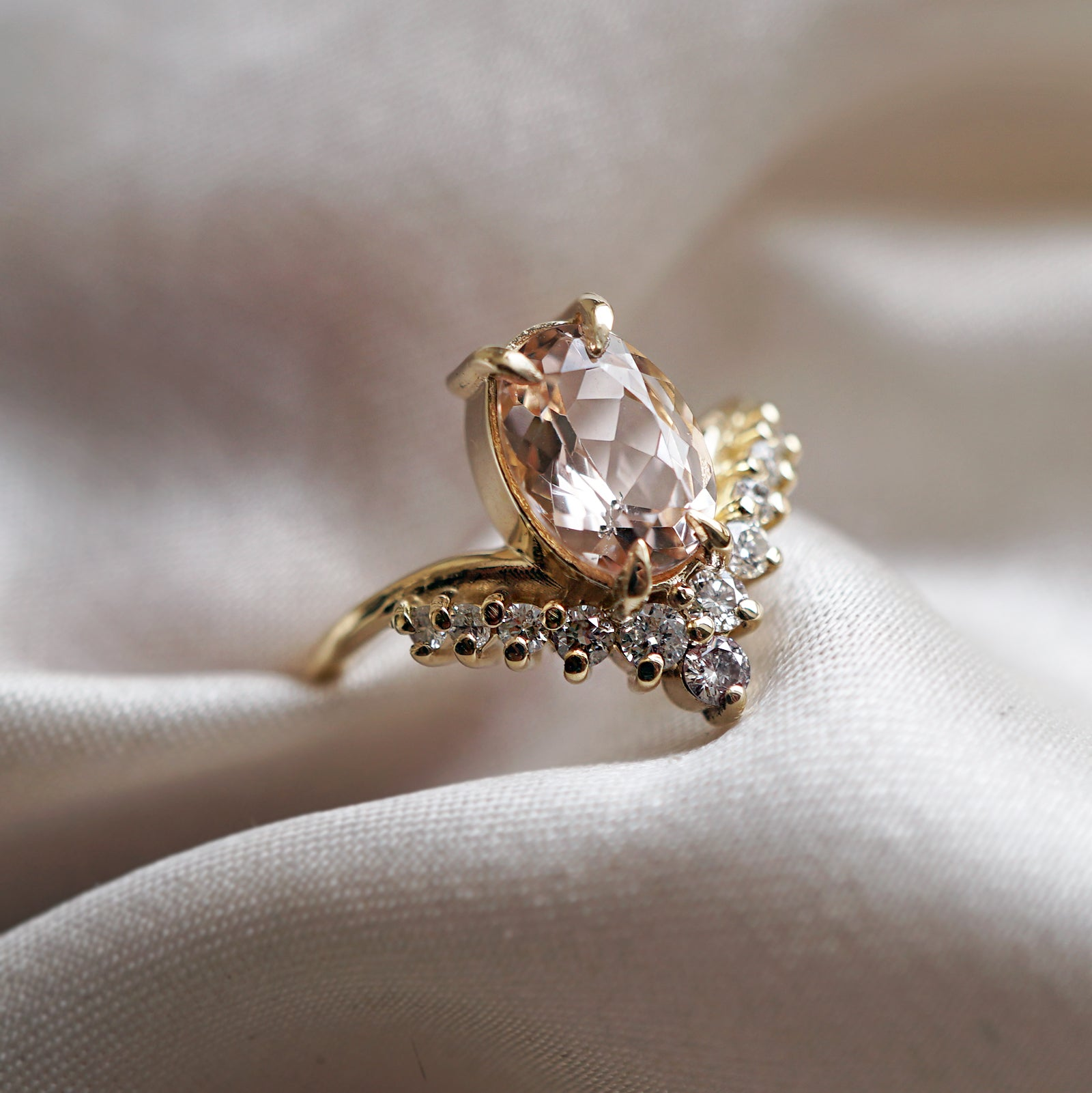 14K All A Dream Morganite Ring