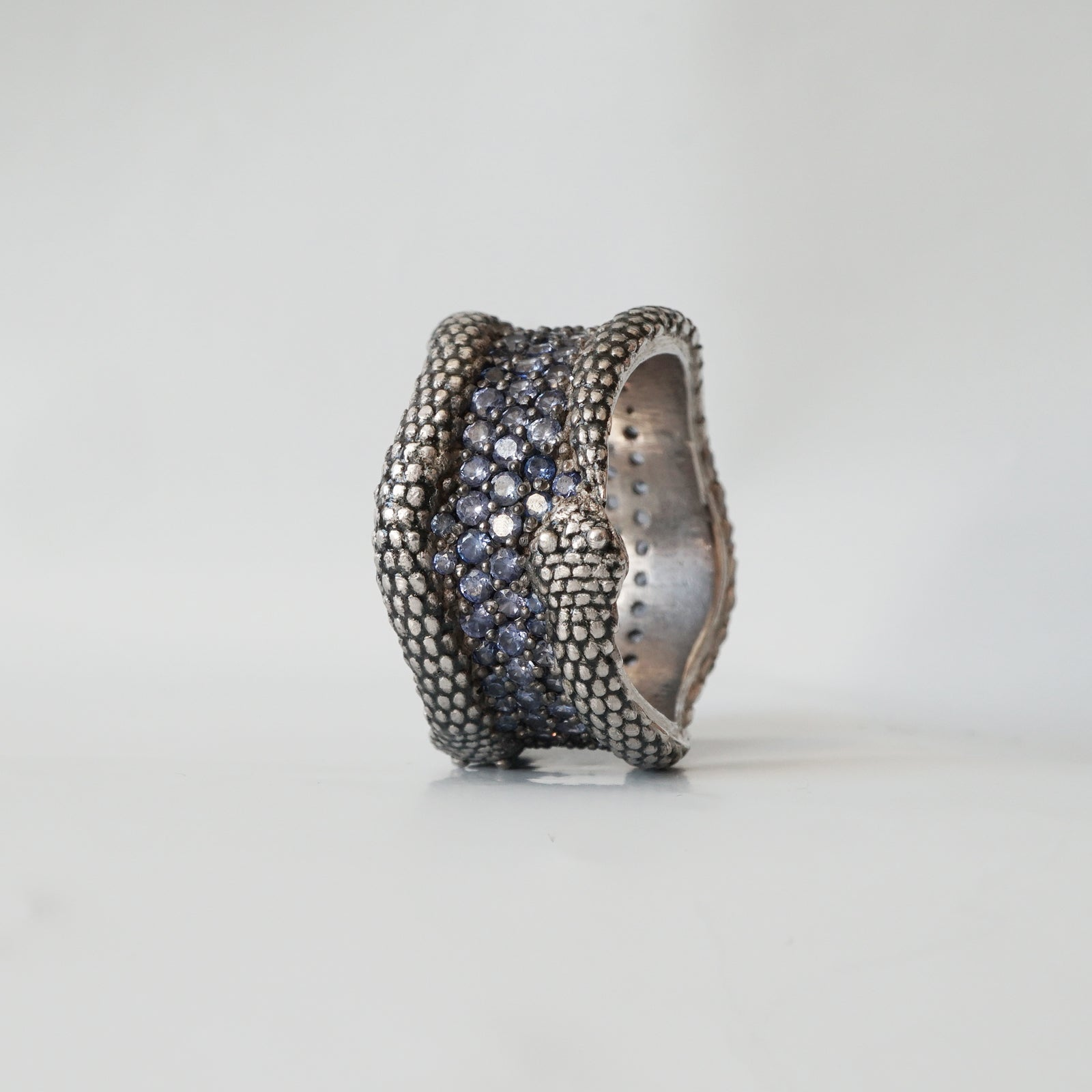 Sapphire Snake Ring - Tippy Taste Jewelry