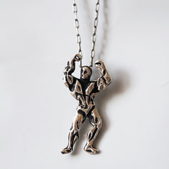 Olympus Body Builder Pendant