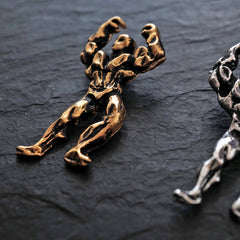 Olympus Body Builder Pendant - Tippy Taste Jewelry