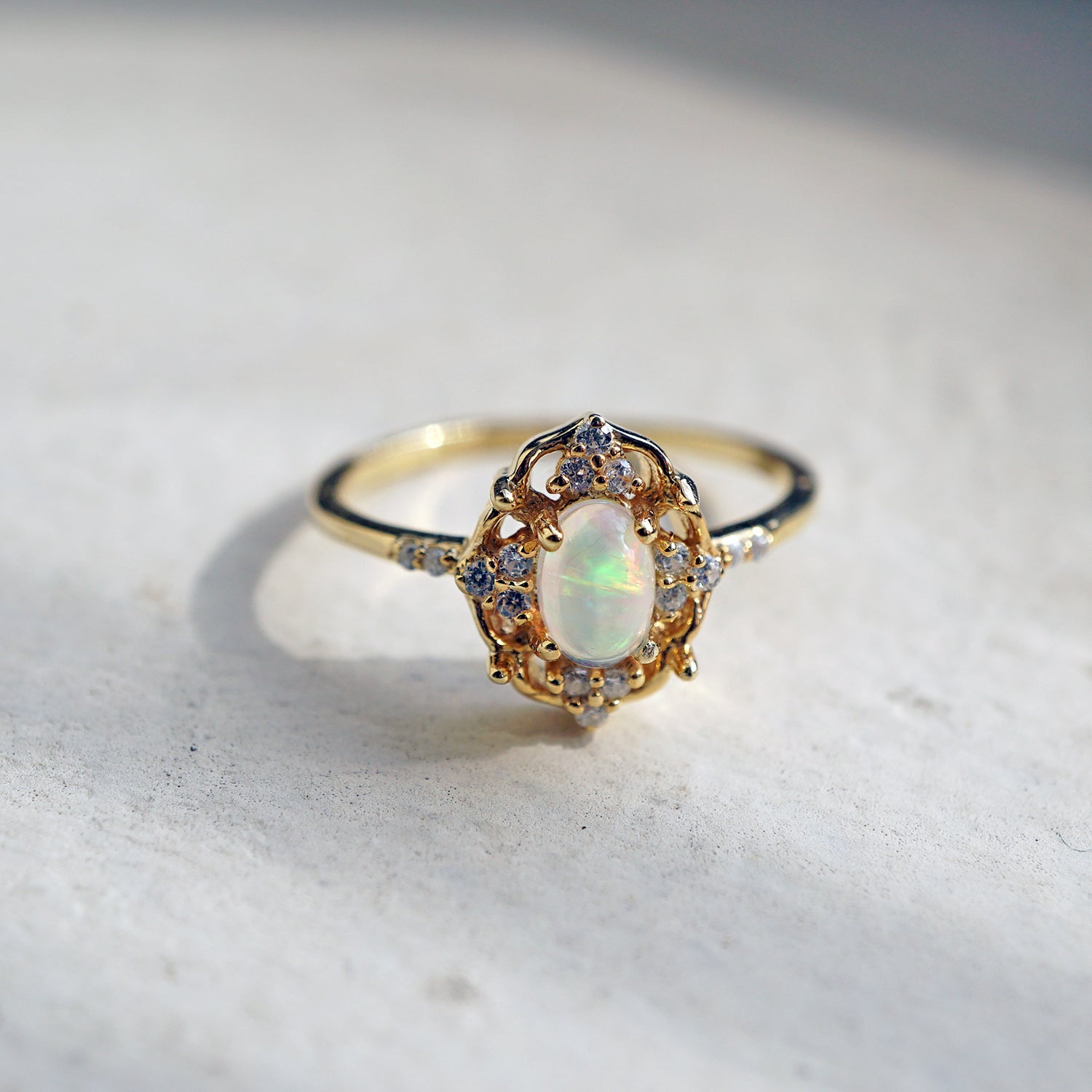 Cosmic Opal Ring - Tippy Taste Jewelry