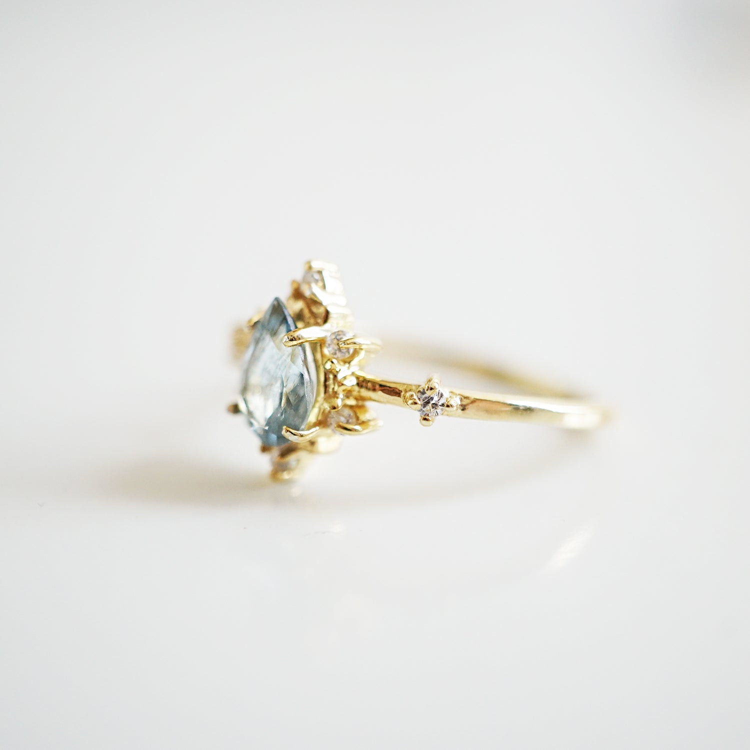 Aquamarine Crush Ring - Tippy Taste Jewelry