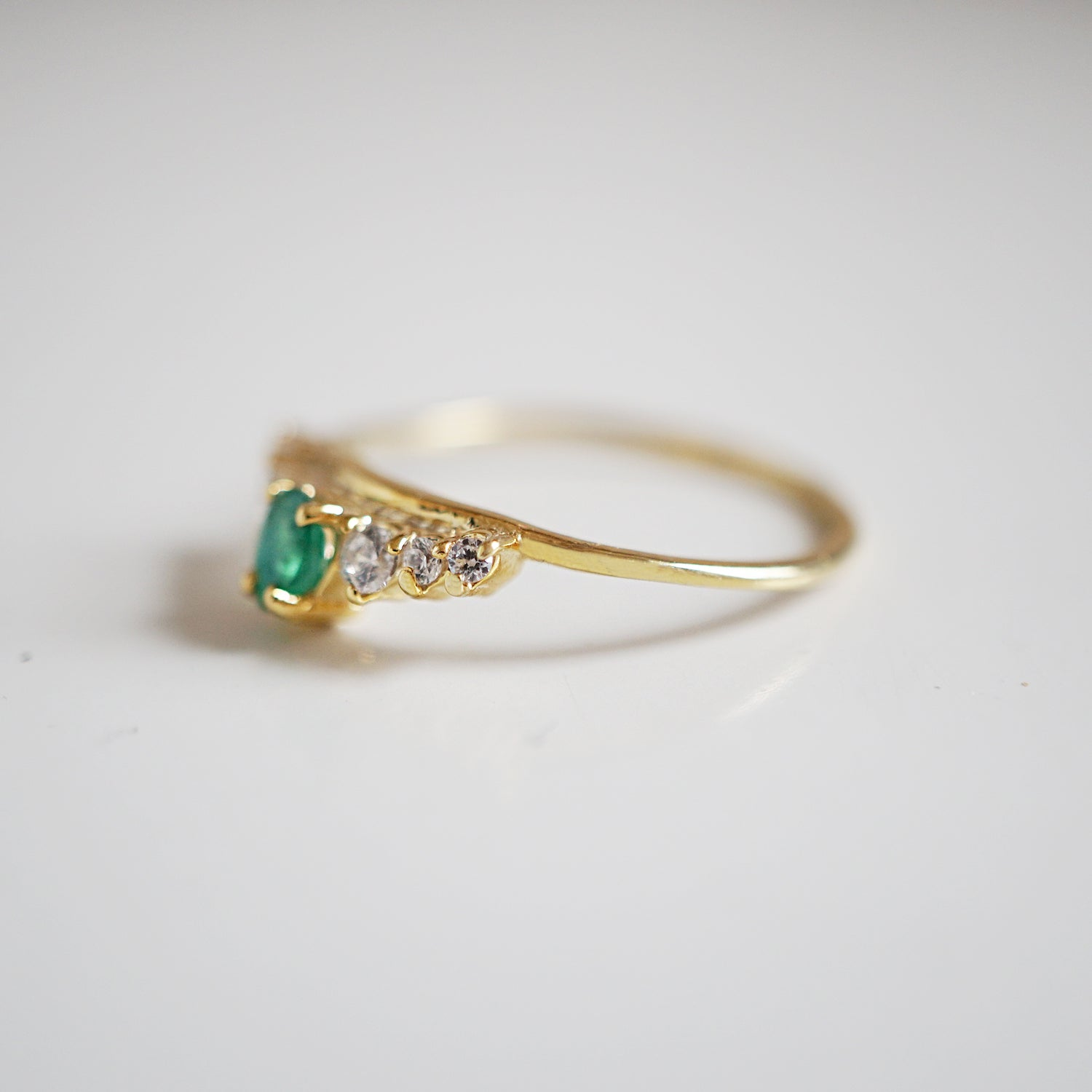 Emerald Empress Ring - Tippy Taste Jewelry