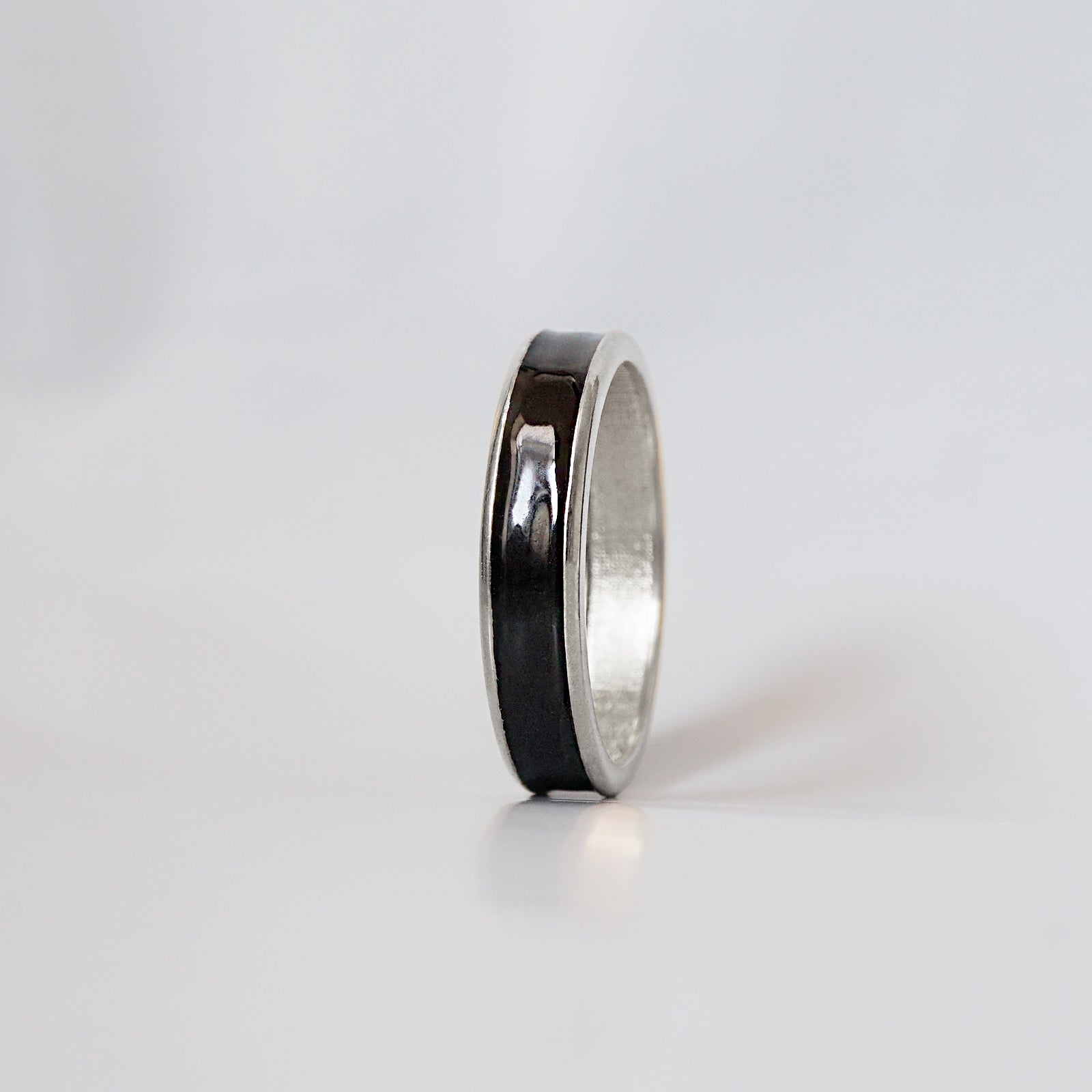 Enamel Ring Band, 4.8mm - Tippy Taste Jewelry