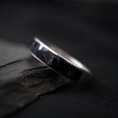 Pietersite Ring Band, 3.5mm - Tippy Taste Jewelry