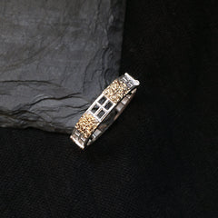 Golden Ladder Ring