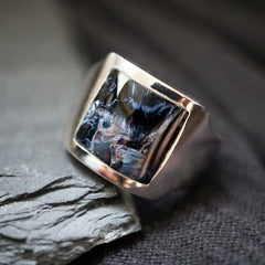 Pietersite Cigar Ring