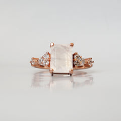 Moonstone Versailles Ring