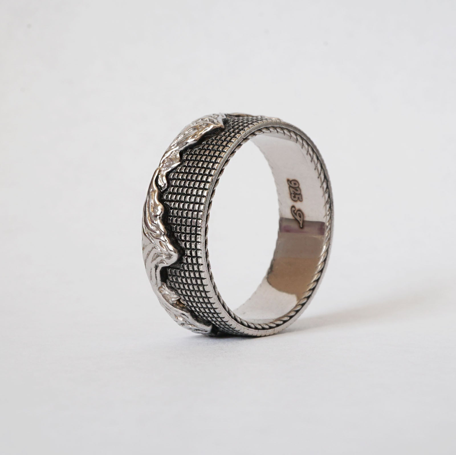 Mixed Metal Montona Ring, 7.2mm