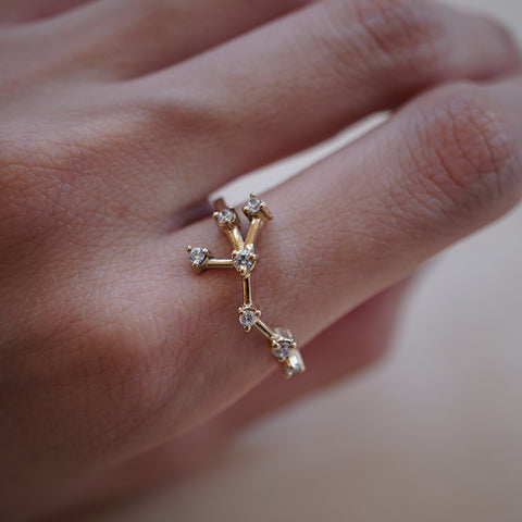 Cancer Constellation Ring - Tippy Taste Jewelry
