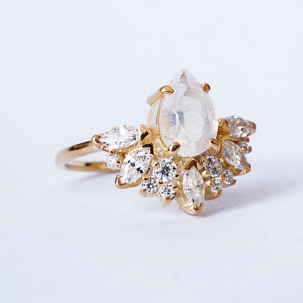 Parisian Moonstone Ring