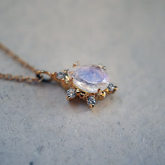 Moonstone Crush Necklace - Tippy Taste Jewelry