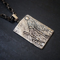 Egyptian Sun Pendant - Tippy Taste Jewelry