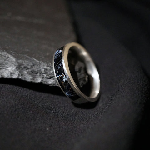 Pietersite Ring Band