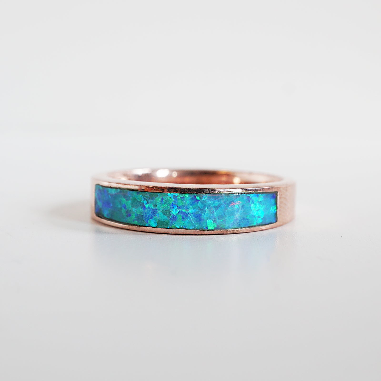Opal Ring Band, 3.5mm