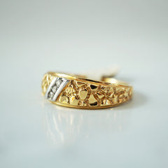 Limited Edition: 14K Lava Diamond Ring