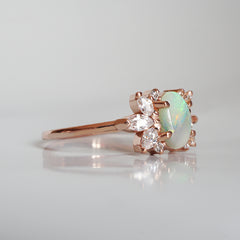 Northern Lights Opal Ring
