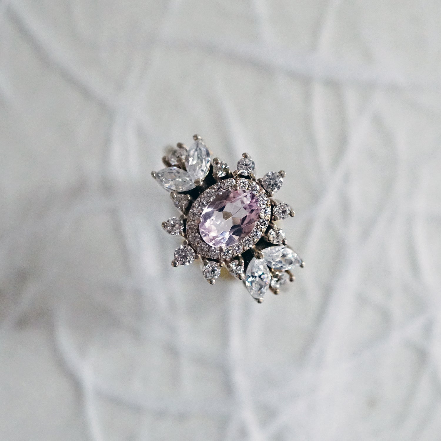 Coco Morganite Diamond Ring