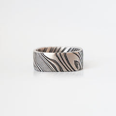 Damascus Steel Ring - Tippy Taste Jewelry