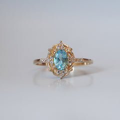 Cosmic Topaz Ring - Tippy Taste Jewelry