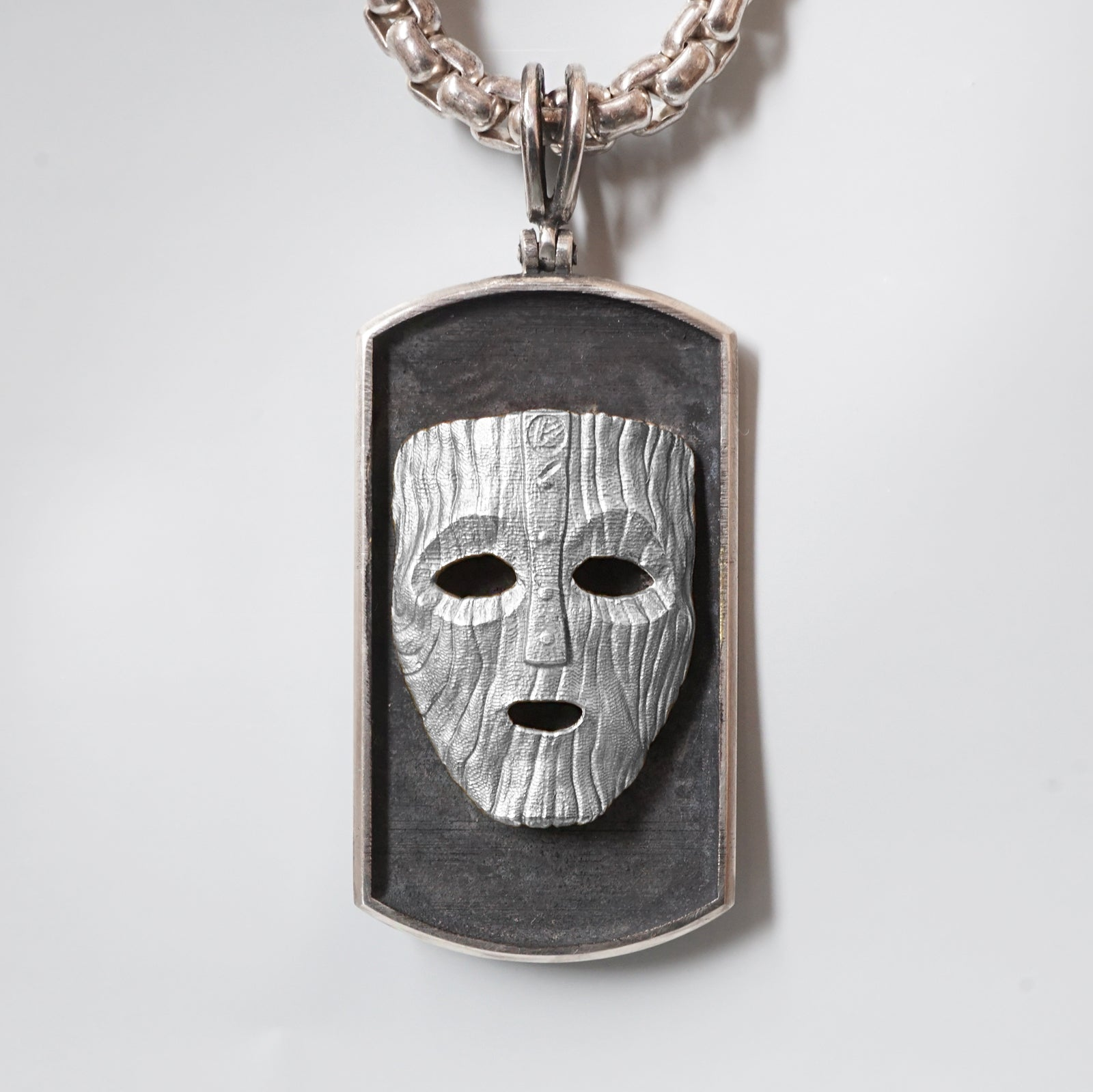 The Mask Loki Pendant - Tippy Taste Jewelry