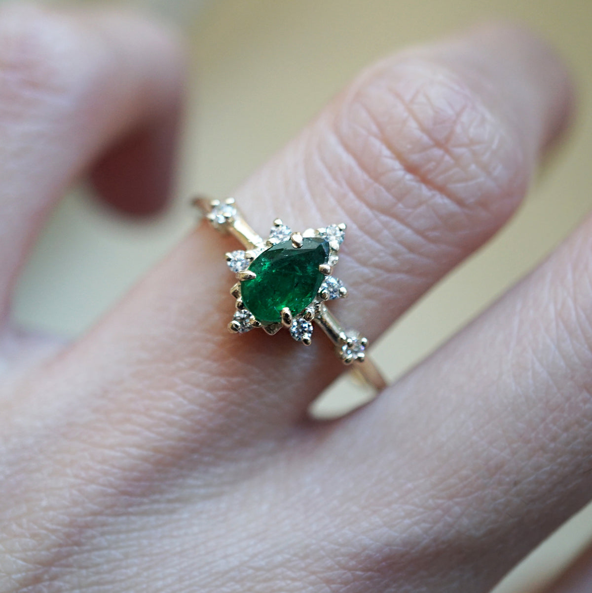 Emerald Crush Ring