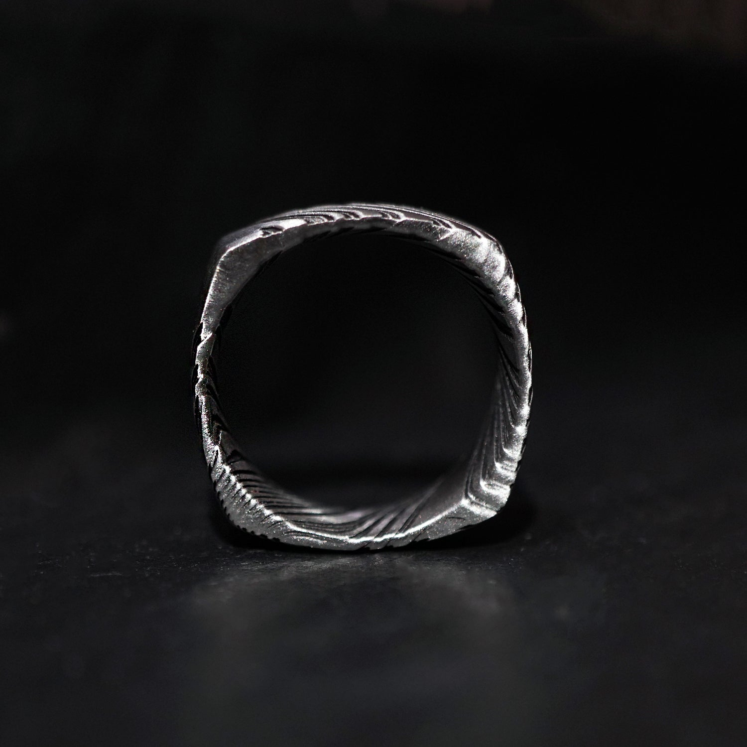 Damascus Steel Ring