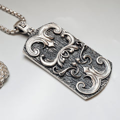 Armour Diamond Pendant - Tippy Taste Jewelry