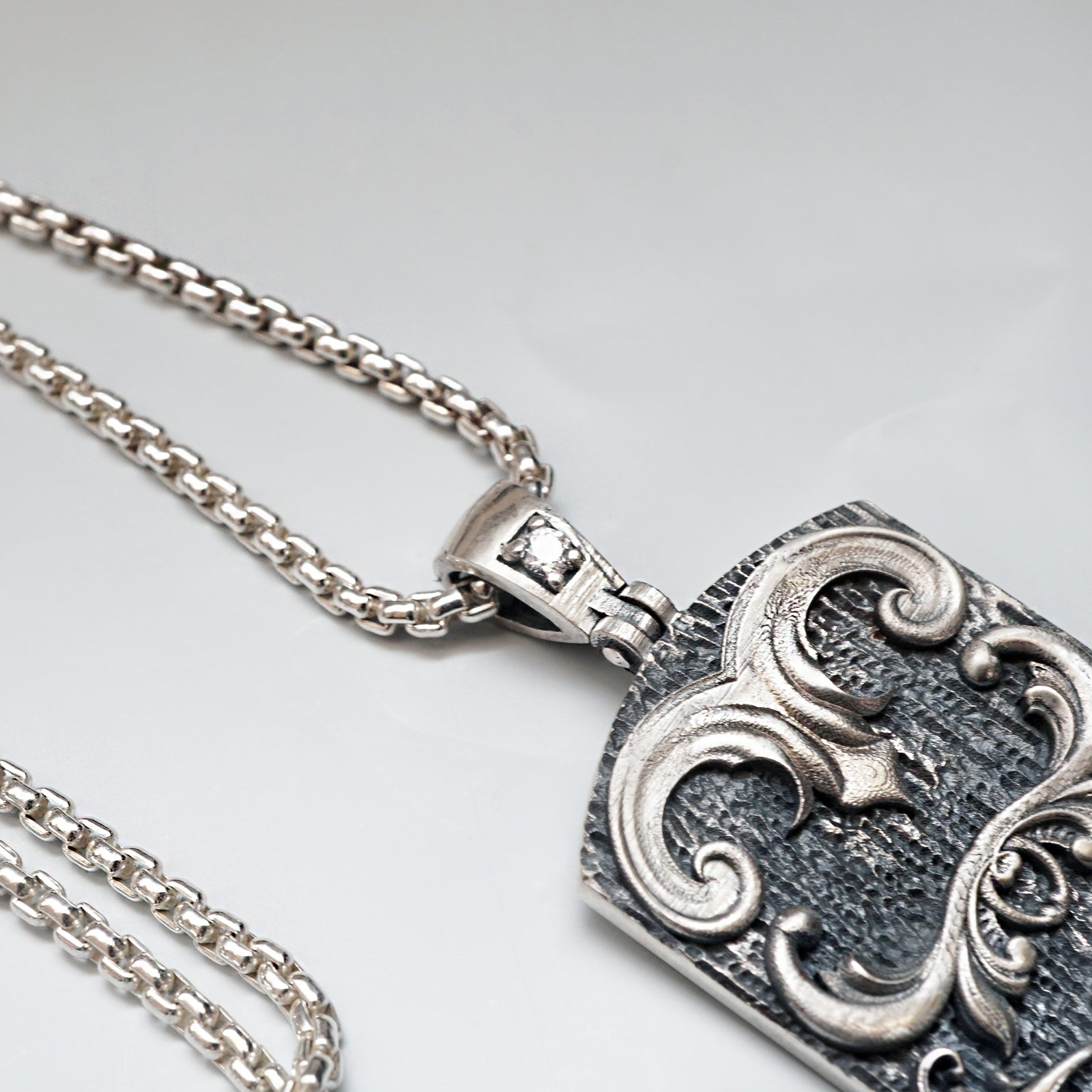 Armour Diamond Pendant