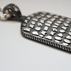 Pavement Diamond Dog Tag - Tippy Taste Jewelry