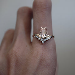14K All A Dream Morganite Ring - Tippy Taste Jewelry